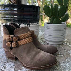 Free people ankle boots 6.5